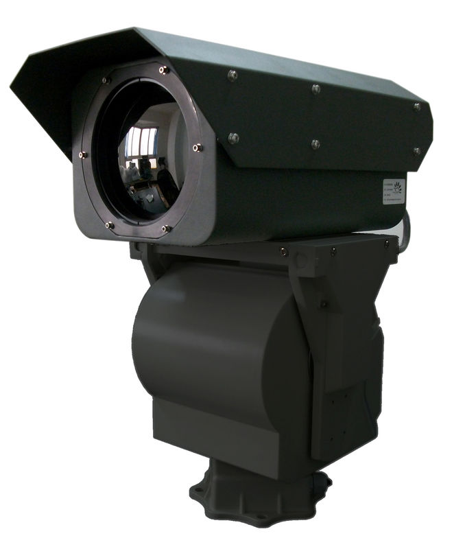 IR Long Distance PTZ Thermal Imaging Camera With 640 * 512 Detector IP66