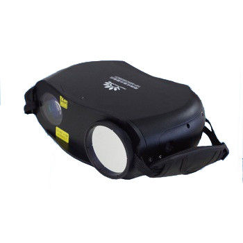 915nm NIR 650TVL Portable Infrared Camera For Police Motorized Optical Zoom Lens