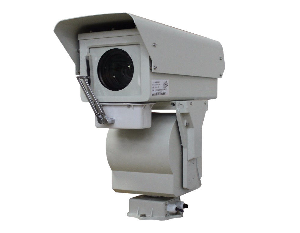 Infrared Security PTZ Network Camera , 50Hz 3km HD Defog Camera 1080P