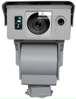 Long Range PTZ Zoom IR Thermal Camera With IP66 10km Border Security