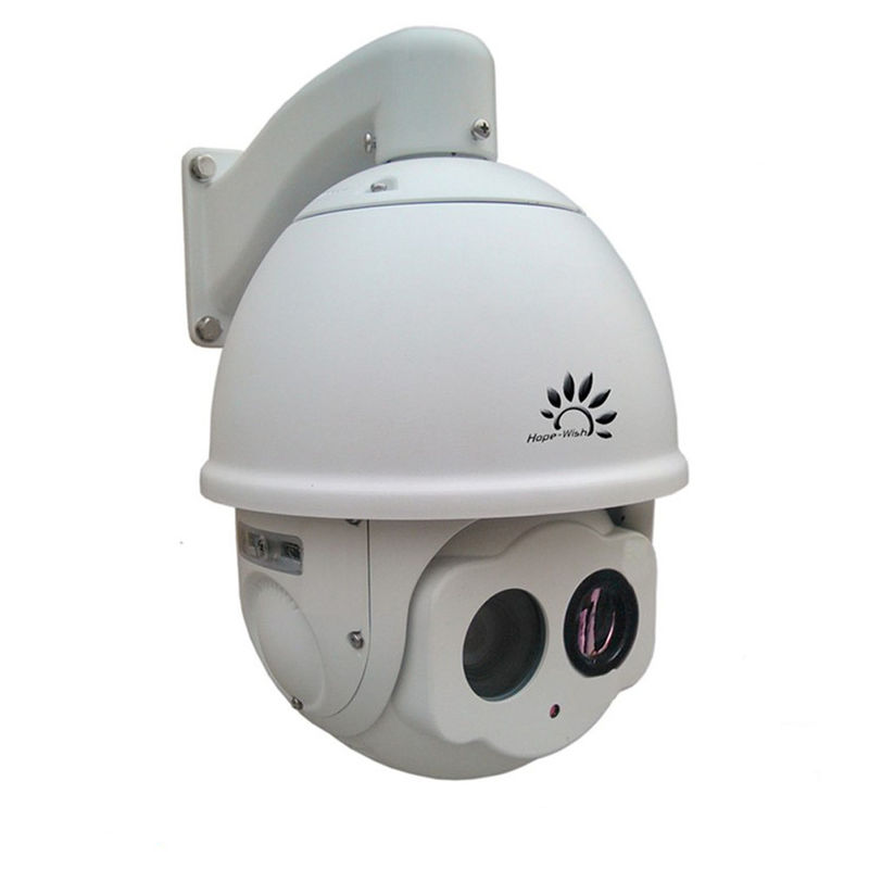 808nm NIR 2.1 Megapixel PTZ Infrared Camera Anti Lighting For City Surveillance