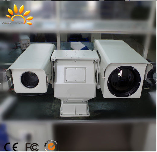Dual Sensor Long Range Thermal Imaging Camera / Military Grade Infrared Security Camera