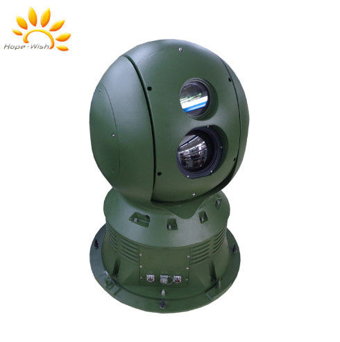 Thermal Cctv Camera / Thermal Network Camera For Border Security Radar Linkage